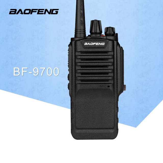 1PC 8W UHF BAOFENG BF-9700 IP67 Waterproof Two Way Handy Radio Walkie Talkie Transceiver