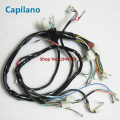 motorcycle GN250 entire vehile cable wire line for Suzuki 250cc GN 250 electric full assembly spare parts