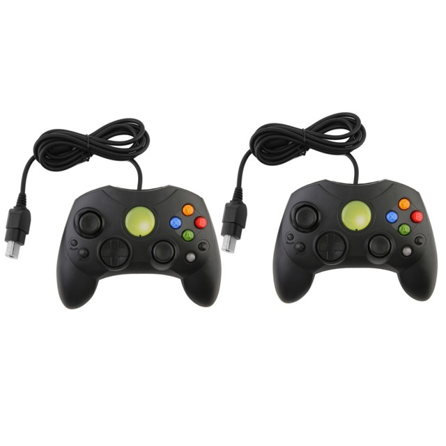Black Wired Game Controller GamePad Joypad Joystick S TYPE For ...