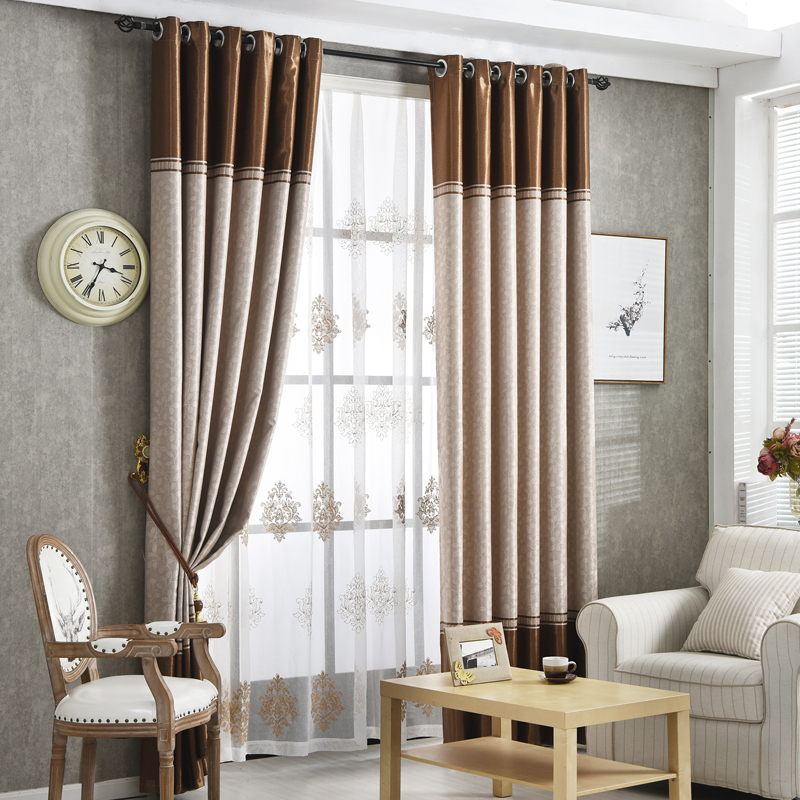 Byetee High Quality Stripe Curtain Modern Blackout Curtains For Living Room Bedroom Window