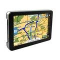 5 Pulgadas de Navegador GPS Del Coche FM/4 GB/DDR128M Camión GPS Mapa de Navegación Para Rusia/Bielorrusia/europa/Israel/Australia/EE. UU. + Canadá Sat Nav