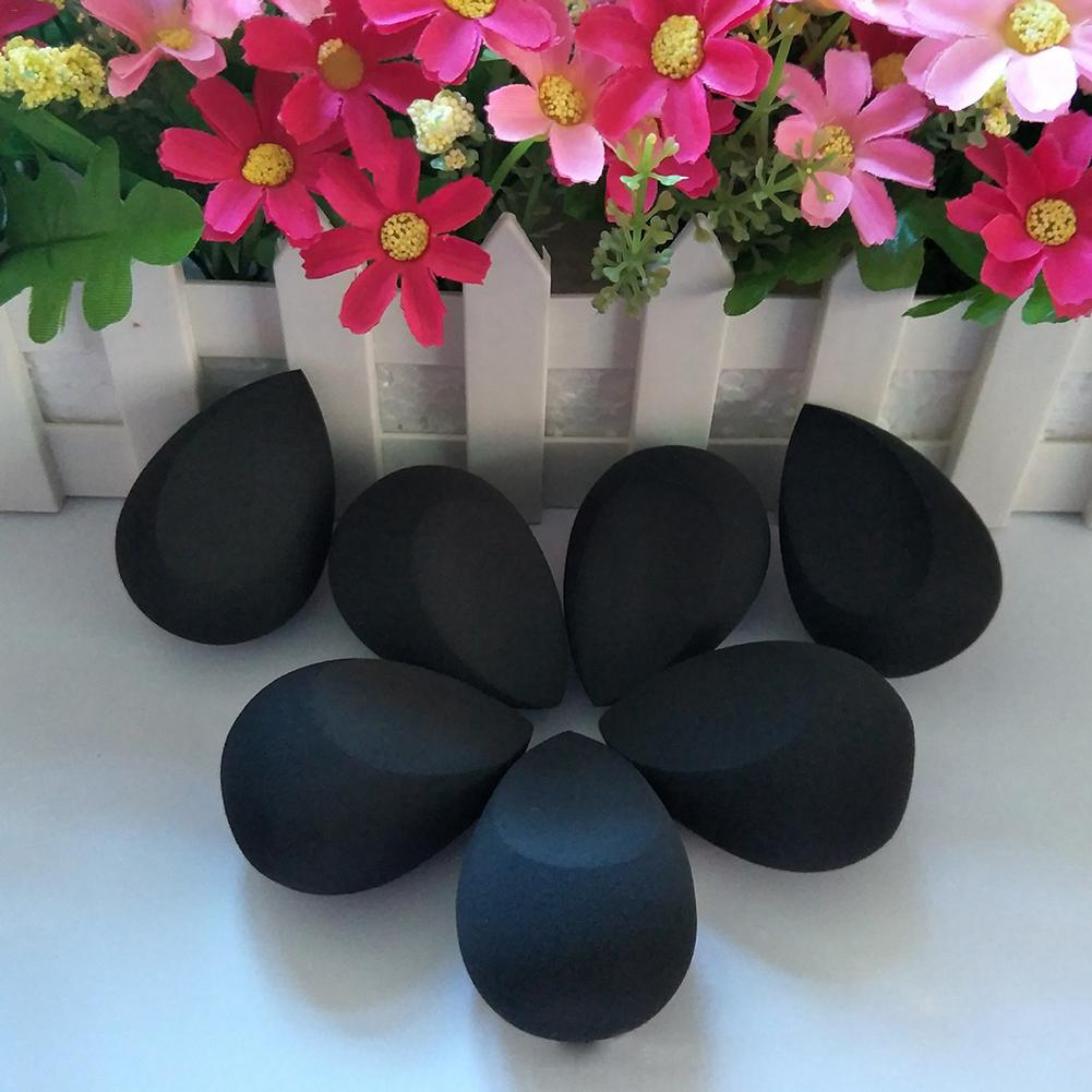 1PC Puff Water Drop Shaped Powder Puff Non latex Wet And Dry Dual use Make Up Puff Beauty Gifts Drop Shipping in Cosmetic Puff from Beauty Health