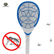 3 Layers Net Dry Cell Hand Racket Electric Swatter Home Garden Pest Control Insect Bug Bat Wasp Zapper Fly MosquitoKillerkiller