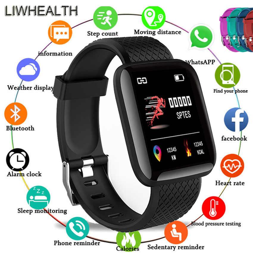 Couleur vie HR/pression artérielle montre intelligente montre sport hommes/femmes Smartwatch adapté pour Apple/Xiao mi/Sony VS mi bande 4/B57 bracelet supplémentaire