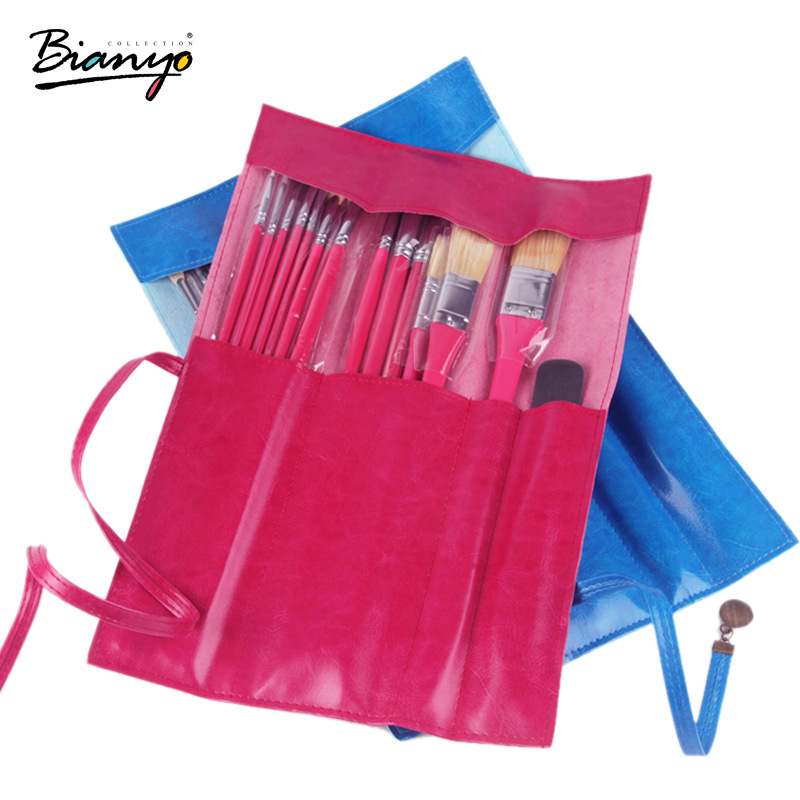 13Pcs Different Shape Hair Oil Painting Brush With Knife Set For Acrylic Watercolor Drawing Brush Set Art Supplies 14pcs different shape acrylic oil painting brush suit wooden handle brushes drawing tool paint pen with bag art supplies
