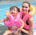 Voltas de Natação do bebê Anel de Natação Infantil Inflável Natação Anel Adulto Braço Flutuadores Flutuar Aprender a Nadar Cork Hoop