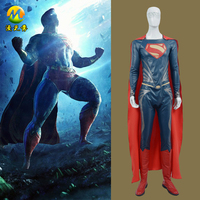 2016 Superman Batman War Costume High Quality Leather Suit Cosplay Costume Costume For Adult Men Any