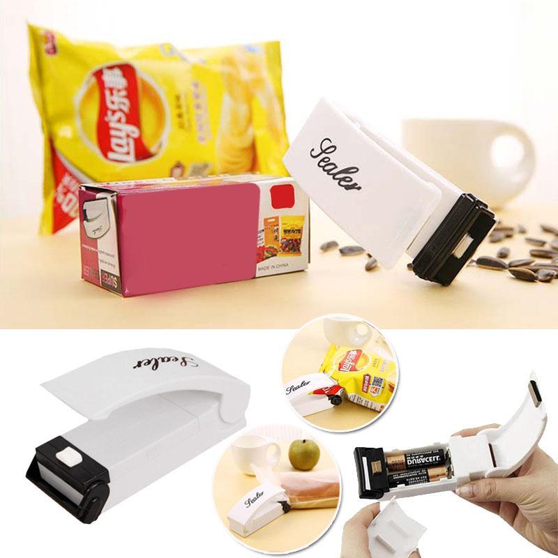 Mini Haushaltssiegelmaschine Sealer Impulse Sealer Poly Lebensmittel - Home Storage und Organisation - Foto 6