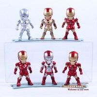 Iron Man Eye Light Function Iron Man Mark 2 3 4 5 6 42 PVC Action