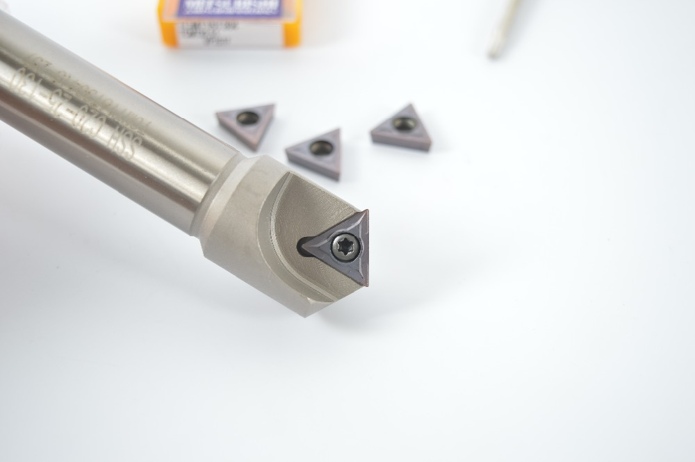 60° 5-25mm cnc Chamfering drill tool holder SSH C20-25-130 FOR TCMT16T302//04//08