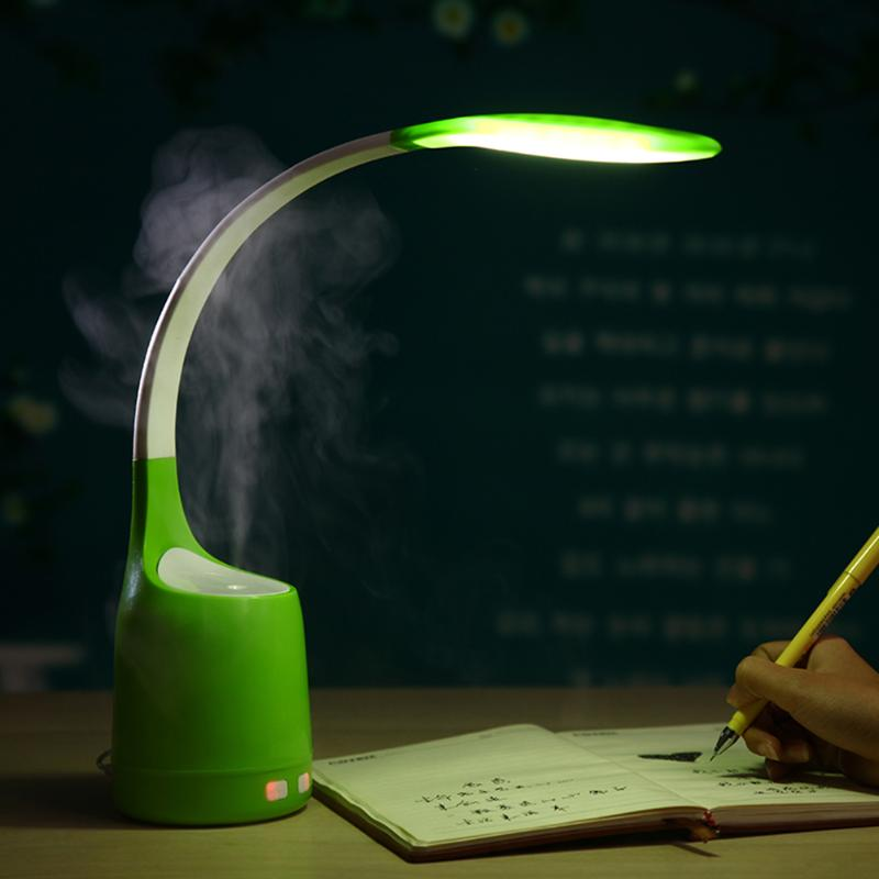 160ML Ultrasonic Air Humidifier with Table Lamp Air Freshener USB Umidificador Essential Oil Diffuser for Reading Study reading literacy for adolescents