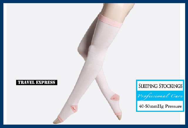 2758373ab29 Japan Sleeping Slim Healthy Medical Varicose Veins Stockings Colorful Woman  Knee Thin Leg Anti-Fatigue
