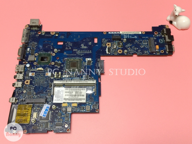 NOKOTION 492552-001 JAT00 LA-4021P for HP 2530P System Mainboard Laptop Motherboard SL9400 CPU 1.6GHz works