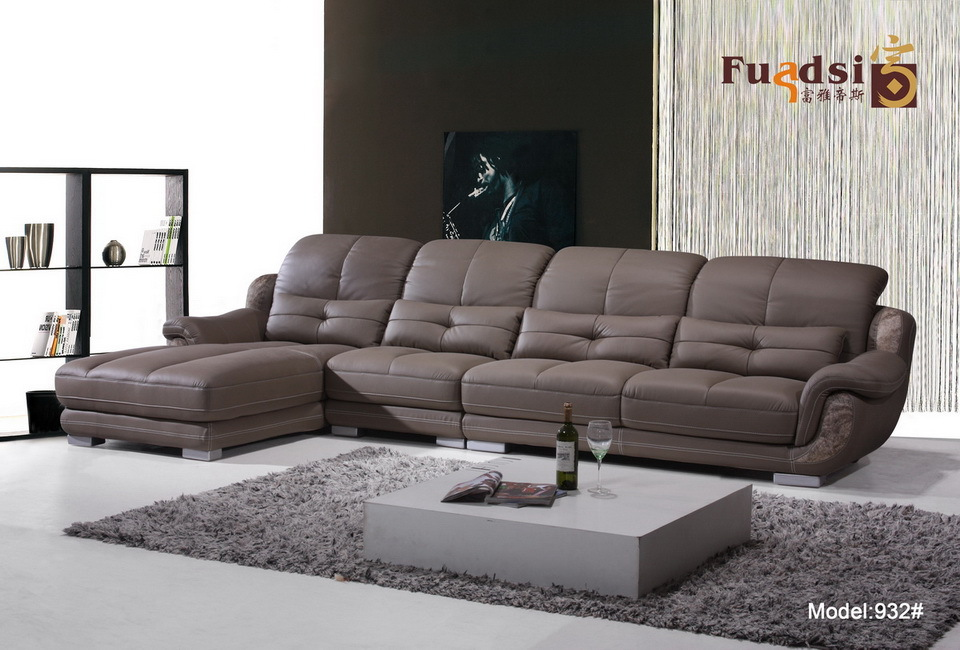 Living Room Furniture Genuine Low Price Sofa Set 932 On