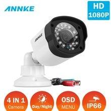 ANNKE – caméra de sécurité Bullet FHD 1080P 4 en 1, TVI/CVI/AHD/CVBS, tout-en-un, Vision nocturne, étanche, 2.0MPSmart IR