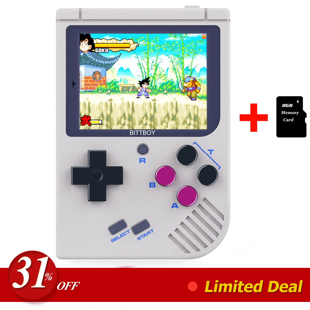 BittBoy V2 Retro Console, Handheld game player, Video game Console. CFW Installed, support Retro games, Old School Games