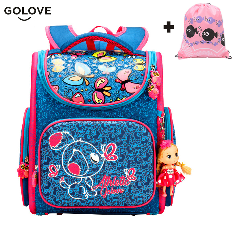 2017 Top Quality Children School Bags for Girls Boys Waterproof Orthopedic kids Backpacks floral School Book Bag Mochila Escolar 16 inch new fashion kids spiderman primary school bags for girls boys cool children backpacks mochila escolar infantil book bag