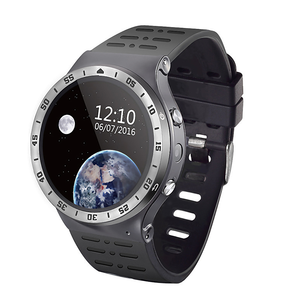 Smart Watch MTK6580 Android 5.1 Bluetooth4.0 GPS Heart Rate Fitness Tracker  Smart watch Phone Rate Monitor SMS Call Reminder wireless service call bell system popular in restaurant ce passed 433 92mhz full equipment watch pager 1 watch 7 call button