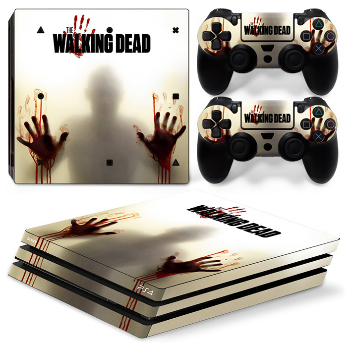 Cheapest and good quality game covers vinyl material skin stickers for PS4 Pro