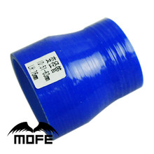 Mofe 51-63 Mm Blauw Straight Turbo Intercooler Pijp 3-Ply Siliconen Overgang Koppeling Slang Reducer(China)