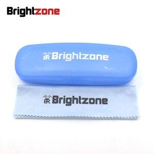 Image 4 - Brightzone Pure Titanium Herstellen Oude Manieren Brilmontuur Man Optics Bijziendheid Cirkel Brilmontuur Mevrouw Bril Frame E 8018