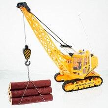 RC Crane 8 CH Remote Control Simulation Caterpillar Crane 680 degree Rotate hoist engineer truck Model