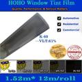 Hoho decorativo películas para ventanas de control solar película de la ventana solar