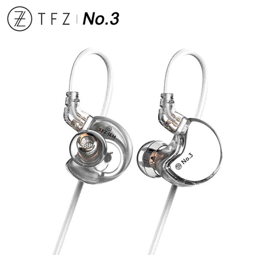 TFZ No 3 No 3Ti HiFi In ear Monitor Earphone 3rd Generation Dynamic Driver IEM HiFi