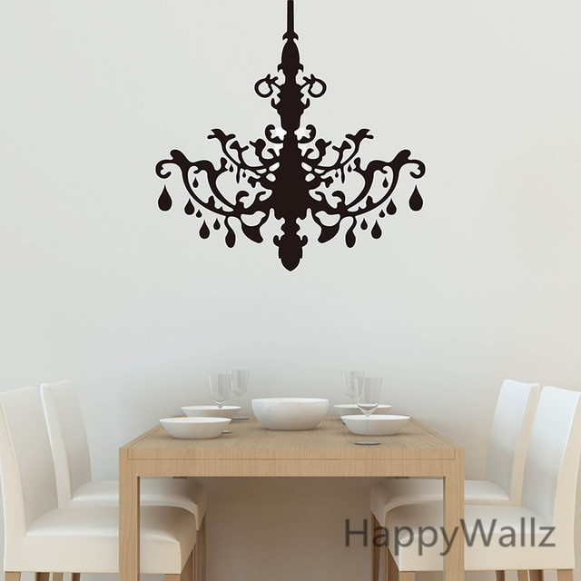3d Droplight Wall Sticker Pendant Lamp Wall Decal Living Room Decorating  Modern Celling Lamp Wallpaper M14