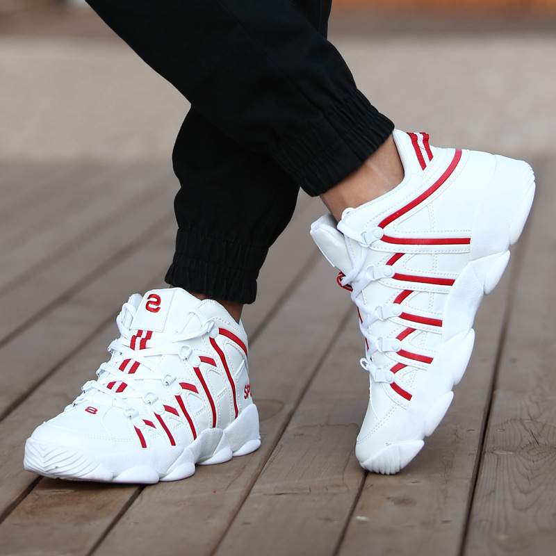 New 2019 Designer Shoes Men Fashion Walking Breathable Casual Shoes Male High Top Sneakers Mens Trainers Basket Homme Chaussure