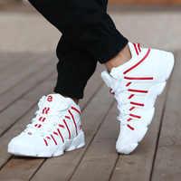 Nouveau 2019 Designer chaussures hommes mode marche chaussures décontractées respirantes mâle haut baskets hommes formateurs Basket Homme Chaussure