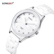 Luxury Water Resistant Easy Read Sports Women Ceramic Wrist Watch
