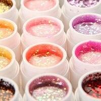 Best продажа 36 pots Блеск Shimmer блестки Дизайн ногтей uv гель для акрил Гвозди