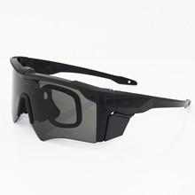 купить New brand AF military goggles 3 Lens Ballistic Military Sport Men Polarized Sunglasses Army Bullet-proof Eyewear shooting по цене 1101.37 рублей