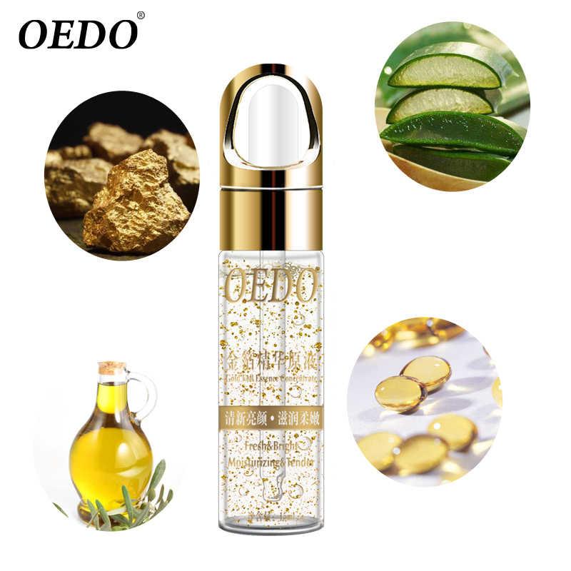 La Cura della pelle Puro 24K Oro Giorno Essenza Crema Anti Rughe Viso Cura Anti Invecchiamento Collagene Sbiancamento Idratante Acido Ialuronico 1PCS