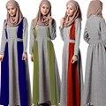 Новые Абая Мусульманский Платье Турецких женщин одежда Исламская одежда Турции Jilbabs и Abayas Халат Мусульманского Пуловеры Платья платья