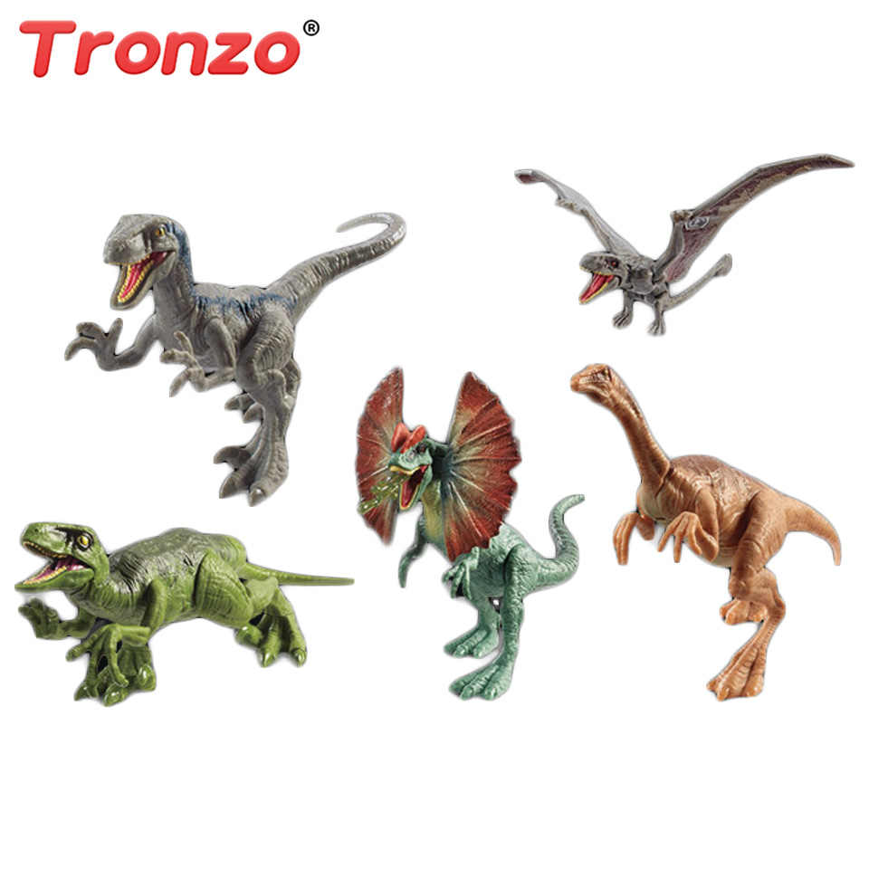 30d9eb5a12 Detail Feedback Questions about Tronzo 17cm Jurassic World Dinosaur Figure  Toys Attack Pack Velociraptor Blue Figure Dimorphodon Gallimimus Dragon  Movable ...