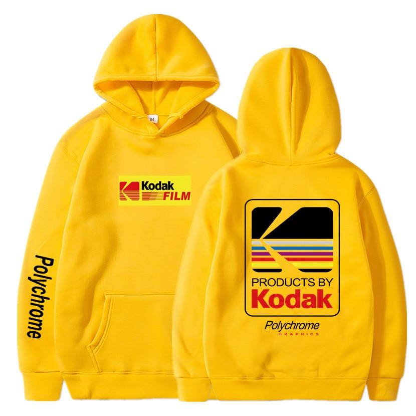 Japanese Hip Hop Winter Fleece Hoody Harajuku kodak Jackets Men Women Sweatshirts 5