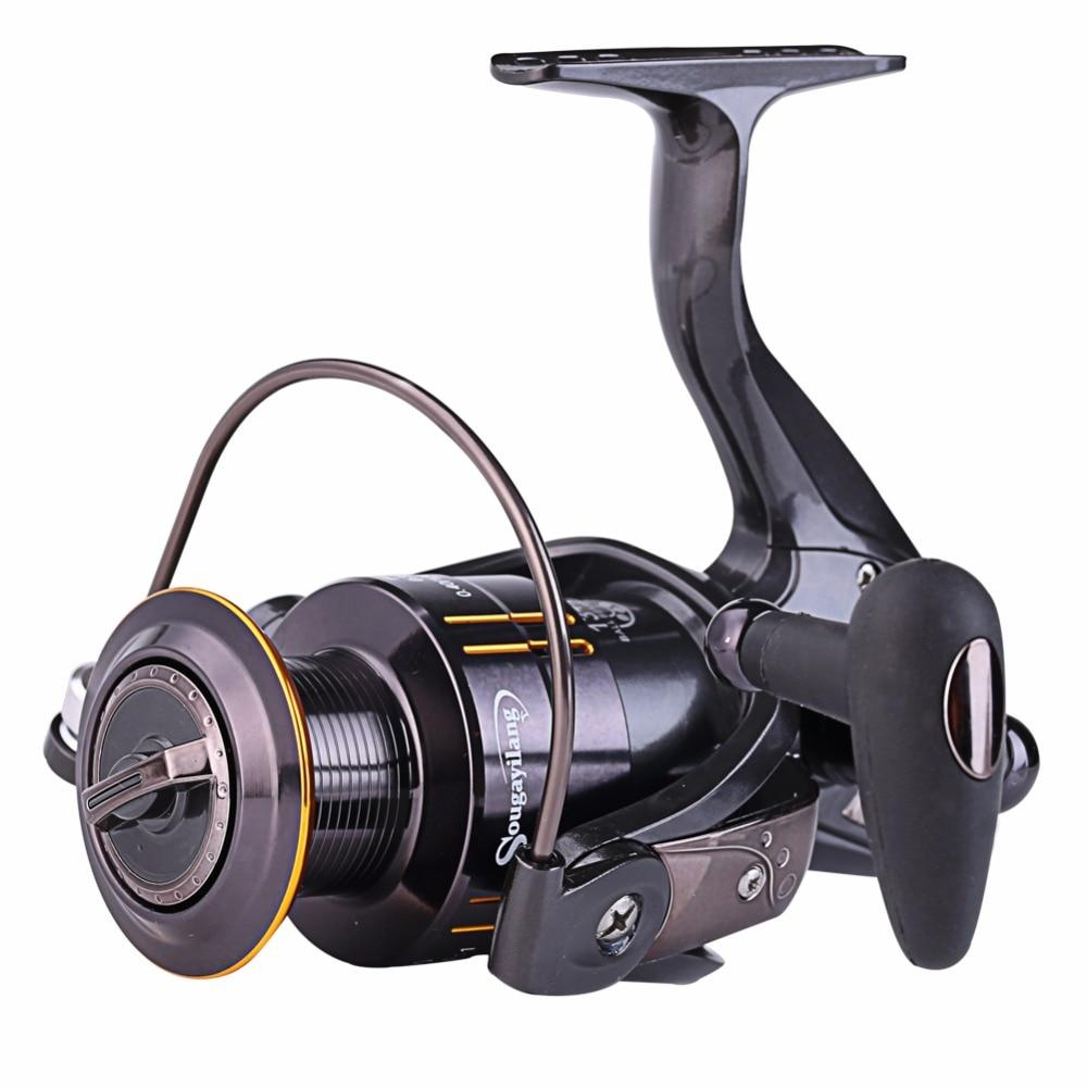 Top quality fishing reel 13 1bb wq2000 5000 metal for 13 fishing spinning reels