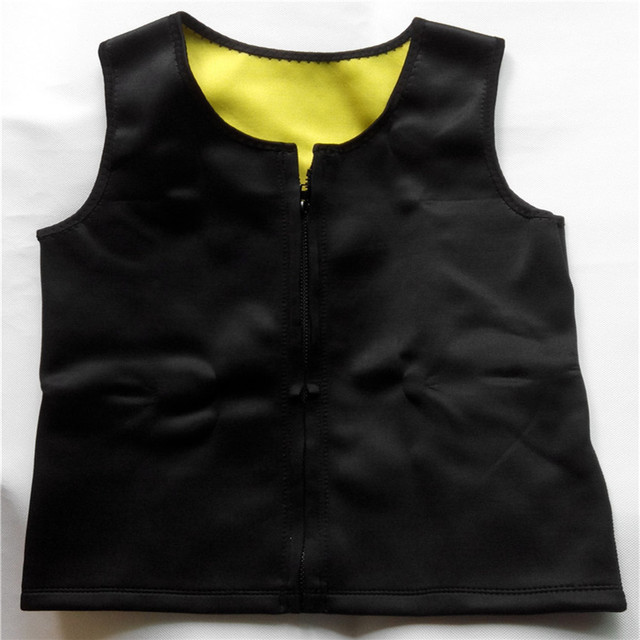 Men Slimming Vest Neoprene Shaper Sweat Thermal Belt Body Shaper Posture Trimmer Waist Abdomen Trainer Corsets  Shapers 4