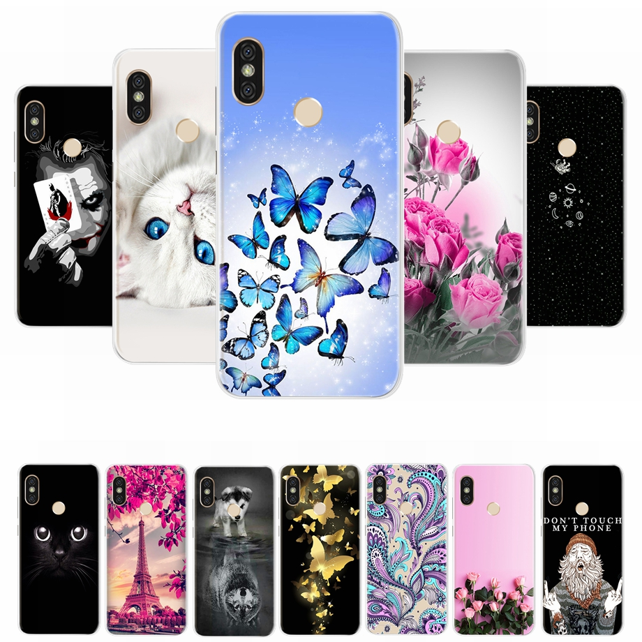 Phone Case for <font><b>Xiaomi</b></font> <font><b>MI</b></font> <font><b>A2</b></font> Lite Case Cartoon Silicone Soft TPU Cover for Fundas Xiomi <font><b>Xiaomi</b></font> <font><b>MI</b></font> <font><b>A2</b></font> <font><b>MiA2</b></font> A 2 Lite Cases Bumper image