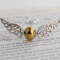 Silver Snitch Necklace - Harry Potter Necklace XL195