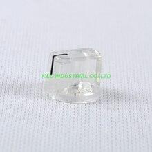 10pcs Colorful Crystal Vintage Control Plastic Knob Spline Shaft 18T Potentiometer