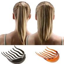 Retro Hairpins Bouffant Ponytail