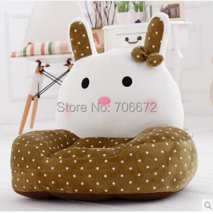 large 54x45cm brown spot rabbit plush toy zipper closure tatami soft sofa floor seat cushion ,birthday gift t8966 about 54x45cm cartoon monkey plush toy zipper closure tatami soft sofa floor seat cushion brown colour birthday gift t8954