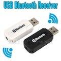 USB Bluetooth Music Adaptador Del Receptor de Audio de 3.5mm de Audio Estéreo para Altavoces de Sonido Caja para el iphone de Apple 4/5/5S/6 Plus De Samsung