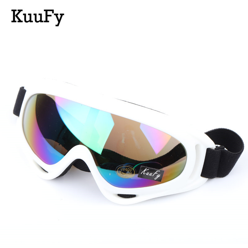Anti-fog Snow Ski Glasses Candy Color Professional Windproof X400 UV Protection Skate Skiing Goggles
