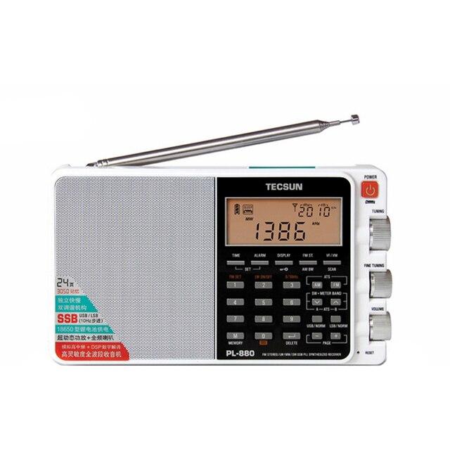 Радиоприемник TECSUN PL-880, FM/AM/LW/SW, SSB
