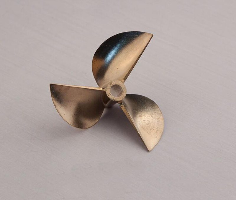 1PC Racing O-boat Propeller Three-blade Props Copper 3 Blades Paddle Inner Diameter 6.35MM for RC Ship Model Spare Parts diy plastic 3 blade propeller for model airplane boat red 3 pcs