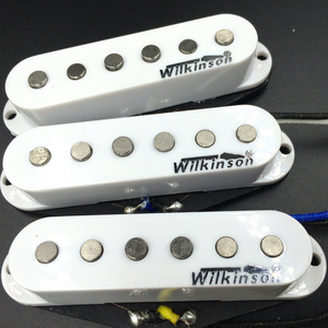 Image 2 - Wilkinson WVS 60 Alnico5 SSS pojedyncza cewka przetworniki gitarowe białe przetworniki do gitary elektrycznej do gitary ST Made In Korea